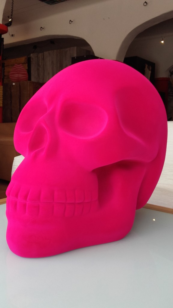 Cabeza deco pink